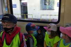 2021 Školní výlet vlakem do lanového centra